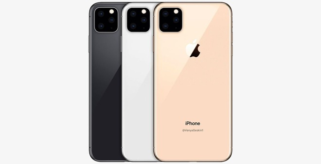 Apple iPhone 11 Max concept render