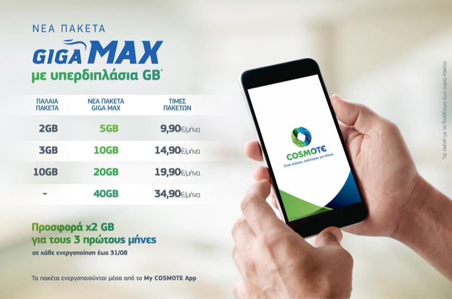 COSMOTE Internet GIGA MAX