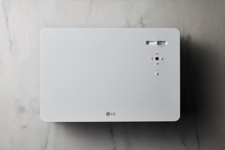 LG CineBeam 4K projector hu70l