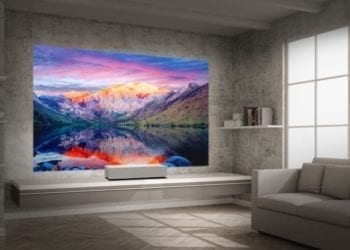 LG CineBeam 4K projector hu85l 2