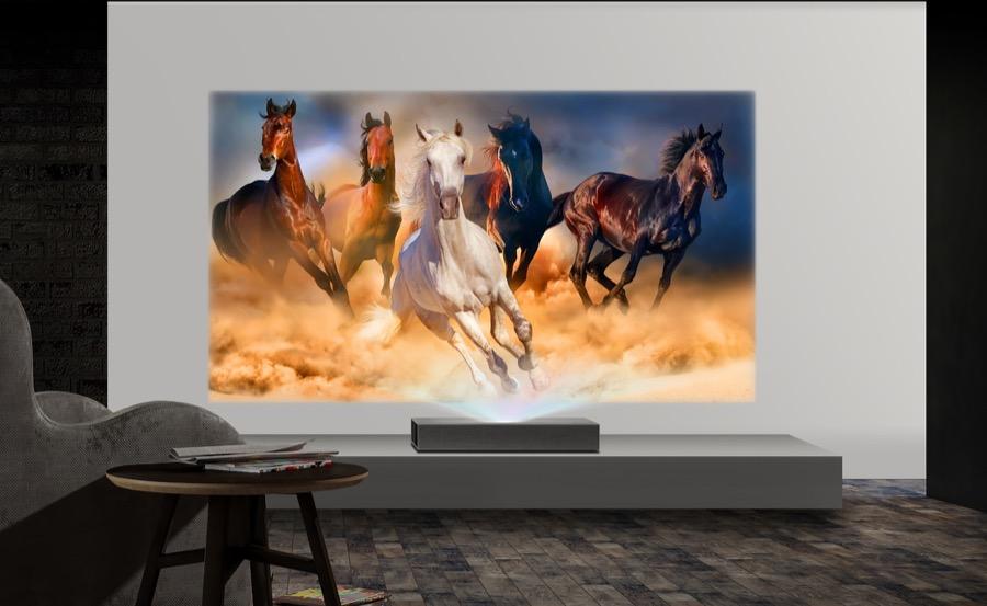 LG CineBeam 4K projector hu85l 3