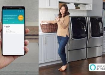 LG ThinkQ app Amazon Dash Replenishment