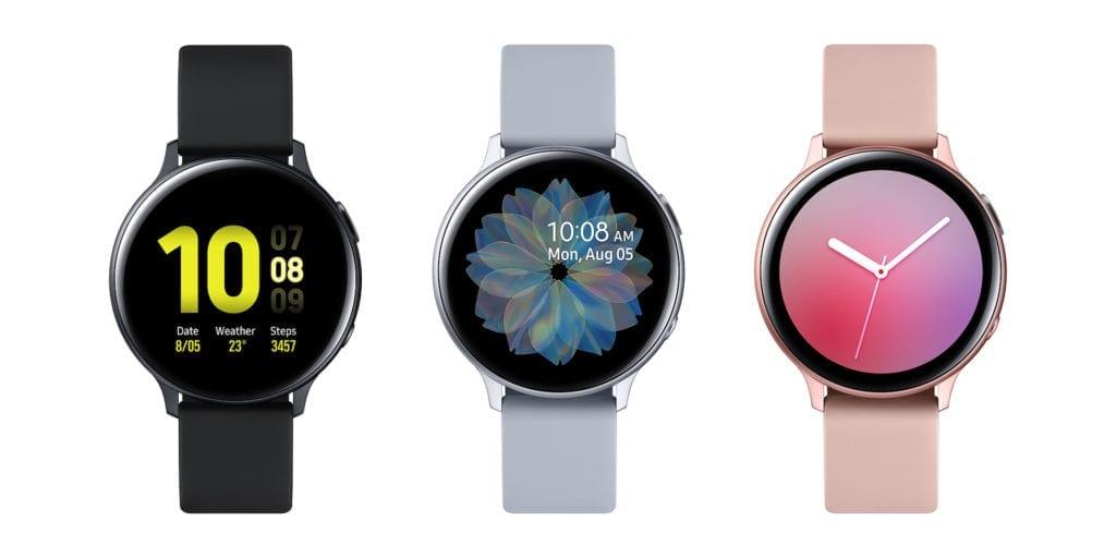 Samsung Galaxy Watch Active2 aluminum 40mm