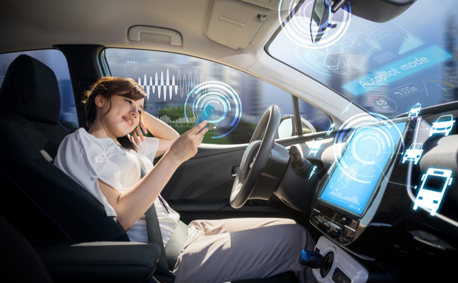 Thales Connected car