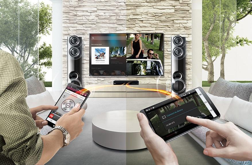 LG LHB625M remote app