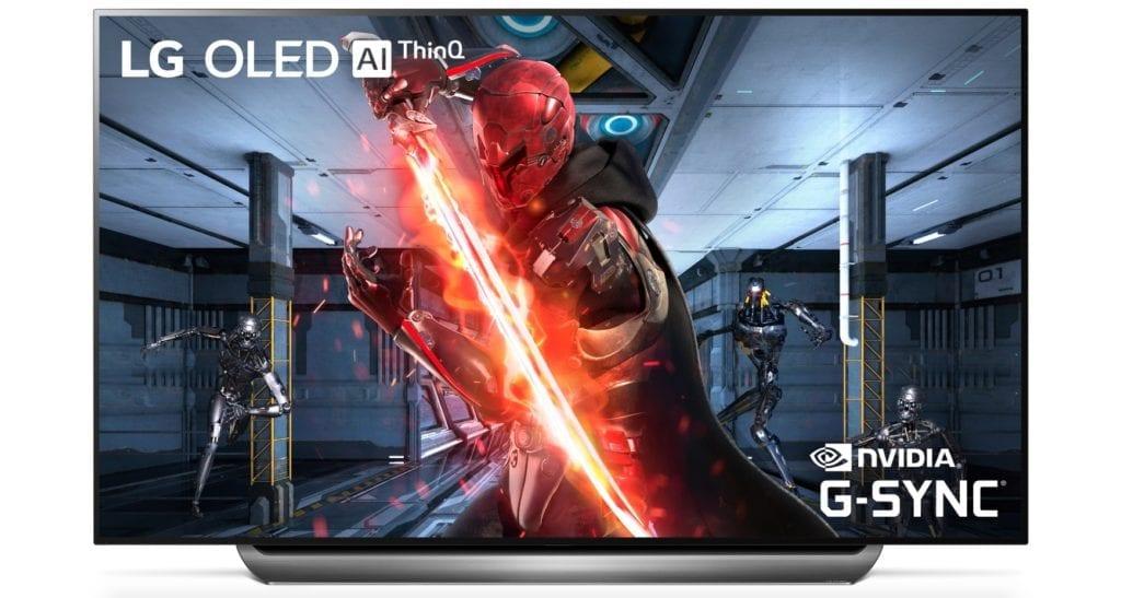 LG OLED TV with NVIDIA G SYNC