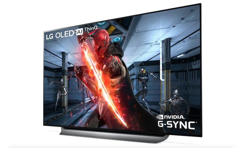 LG OLED TV with NVIDIA G SYNC 2