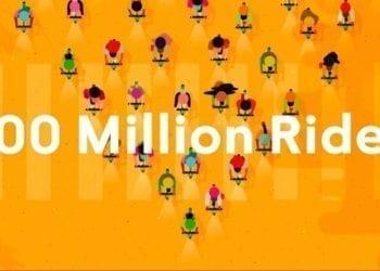 Lime 100 Million Rides