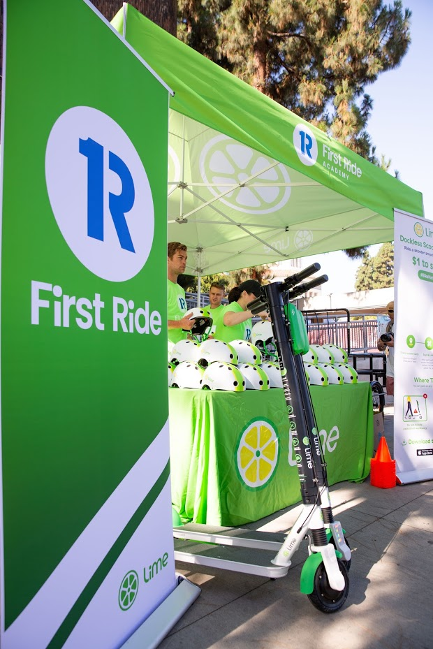 Lime First Ride