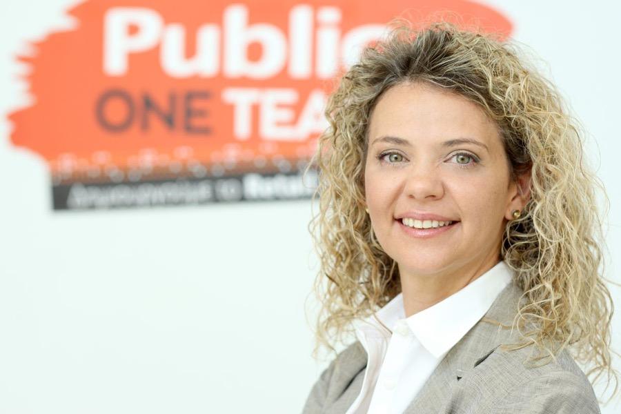 Κατερίνα Μαντζώρου - New HR Director Public
