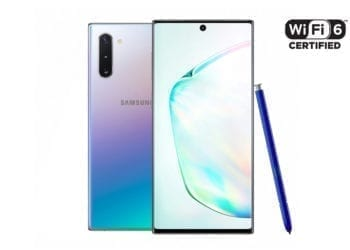 Samsung Galaxy Note10 WiFi 6