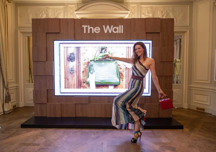 Samsung the wall paris fashion week 1