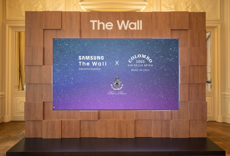 Samsung the wall paris fashion week with colombo 3