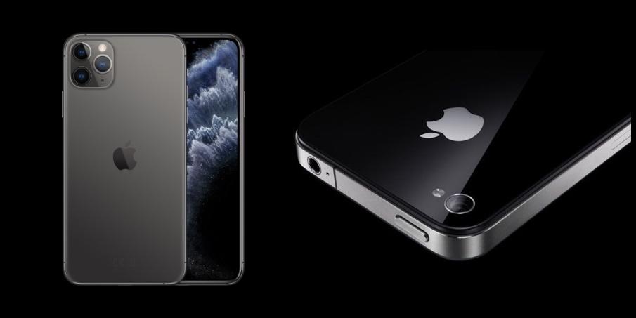 iPhone 11 Pro Max iPhone 4