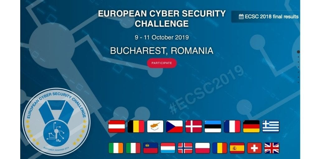 European Cyber Security Challenge 2019