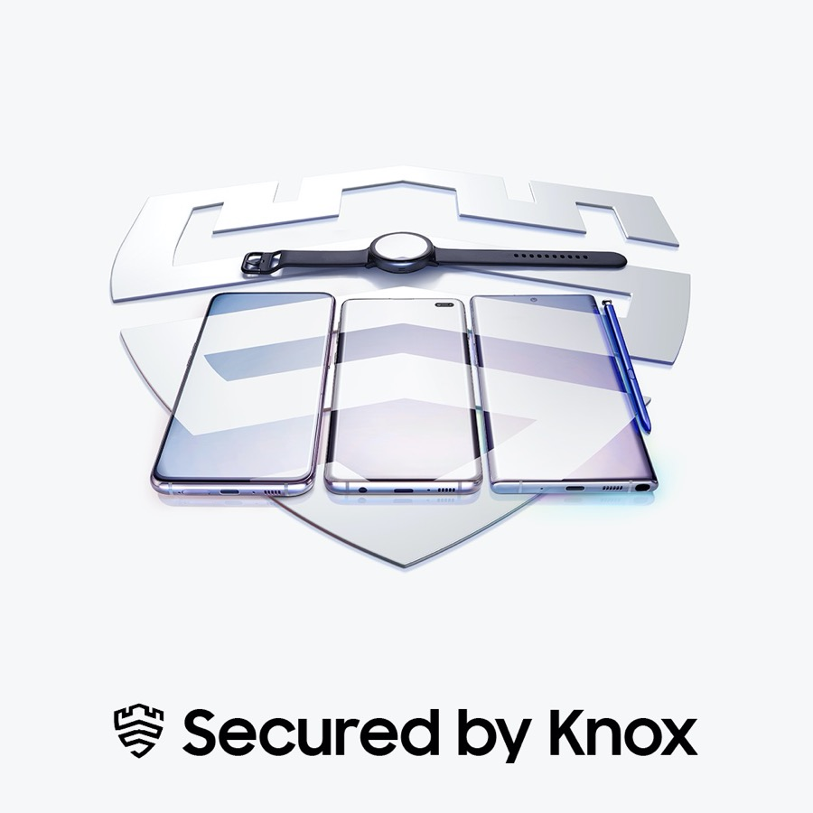 Samsung secured by Knox
