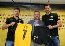H LG επίσημος υποστηρικτής της ΠΑΕ ΑΕΚ για την αγωνιστική σεζόν 2019-20