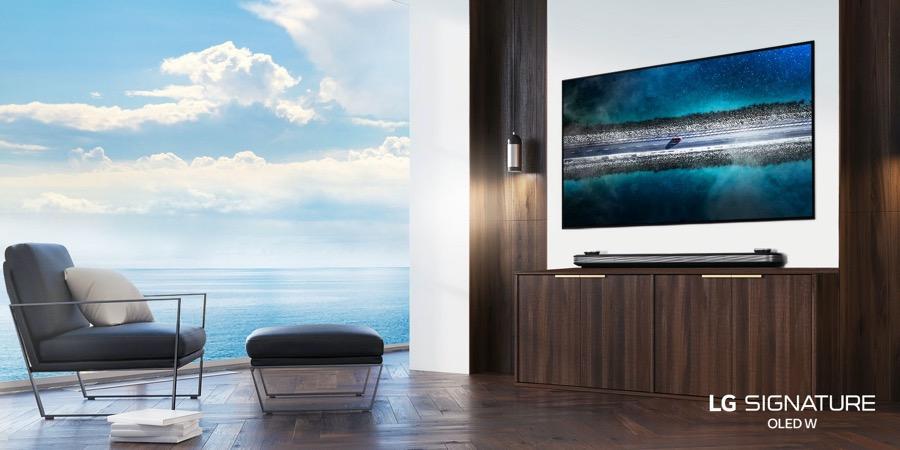LG Signature OLED TV W9