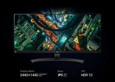 LG UltraWide QHD 34WL750 B monitor 2