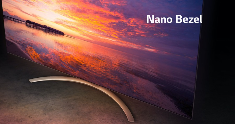 LG 4K NanoCell SM8200PLA nano bezel