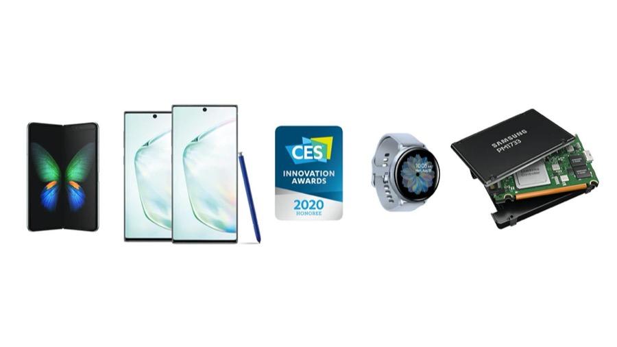 Samsung CES 2020 innovation awards