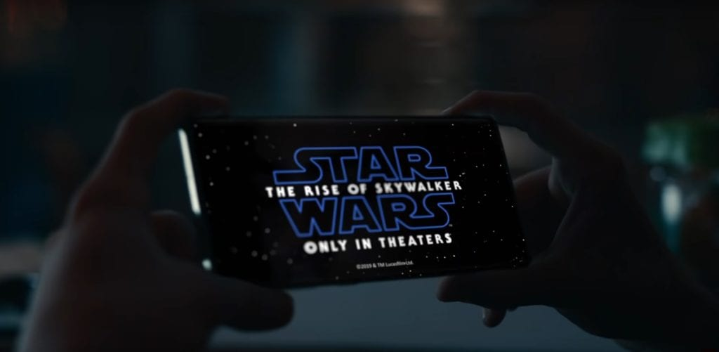 Samsung joins forces with Star Wars for holiday collaboration film