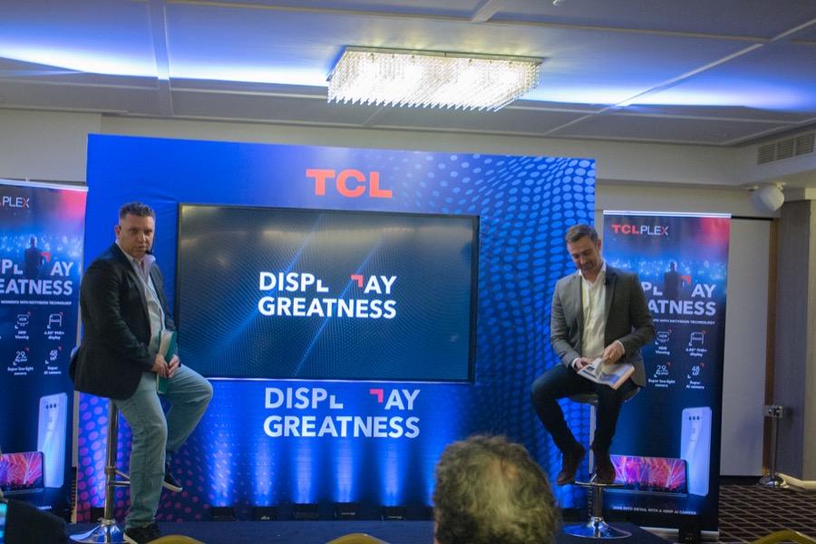 TCL Plex Greek launch XBLOG.GR