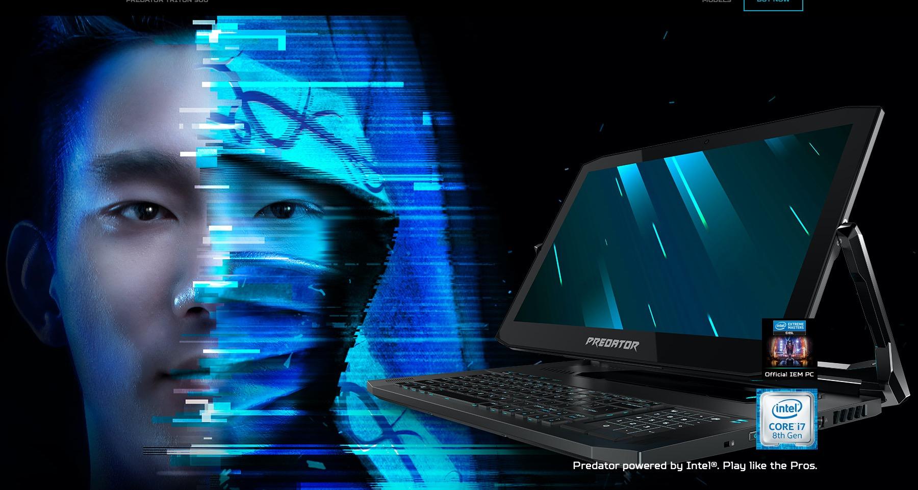 Acer Predator Triton 900 hero