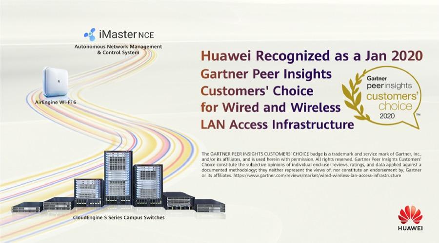Huawei Gartner Peer Insights Customers' Choice