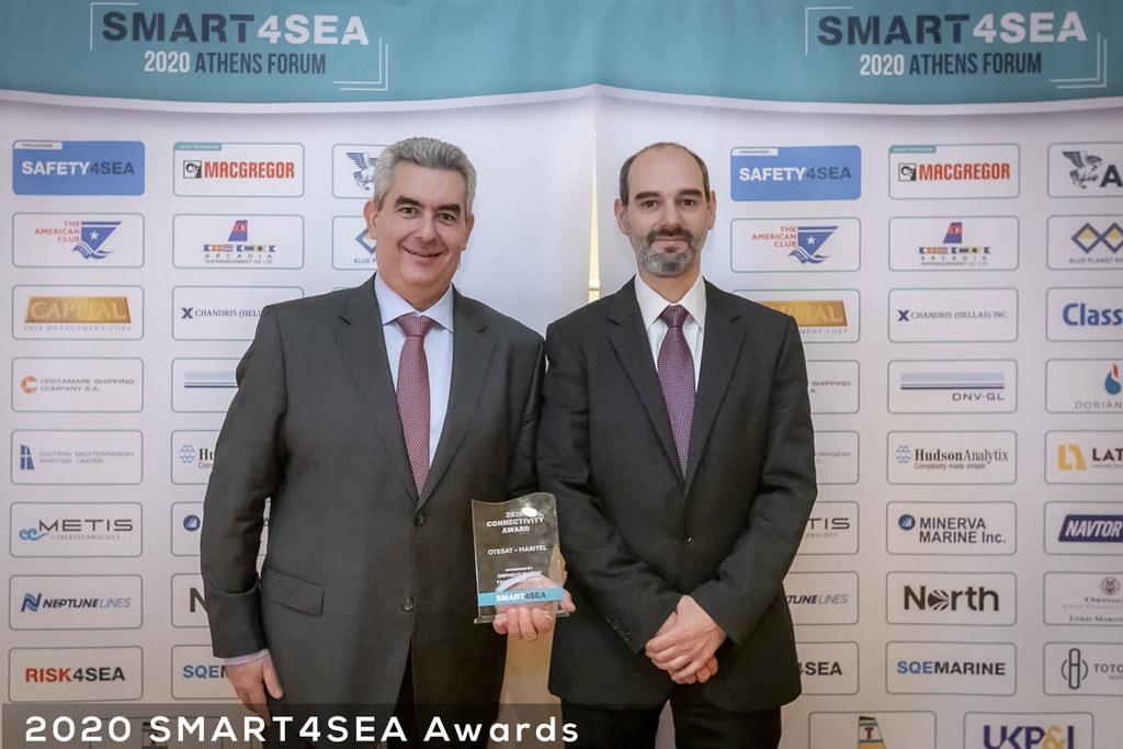ΟΤΕ OTESAT MARITEL Connectivity Award
