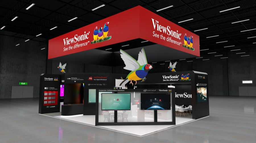 ViewSonic ISE Booth