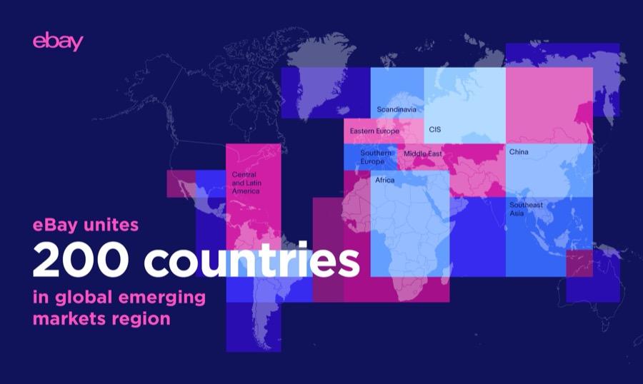 eBay emerging markets infographic