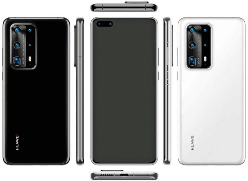 Huawei P40 Pro leak