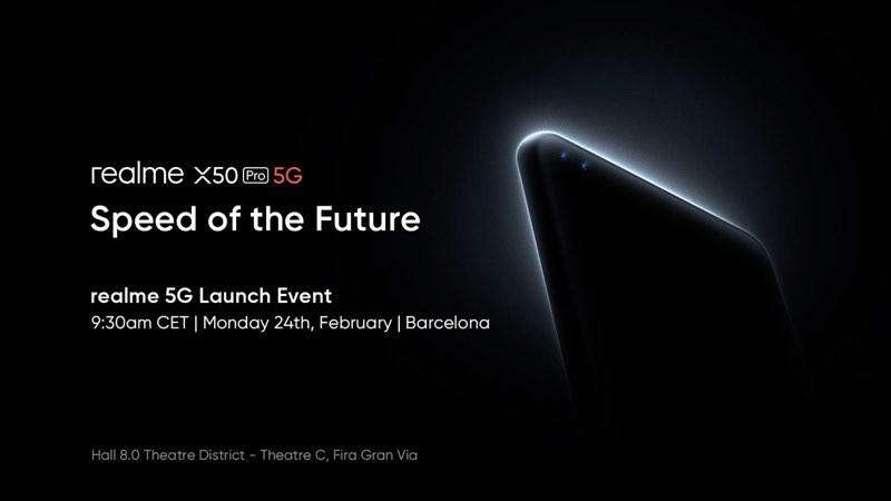 Realme X50 Pro 5G poster