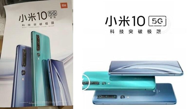 Xiaomi Mi 10 leak poster