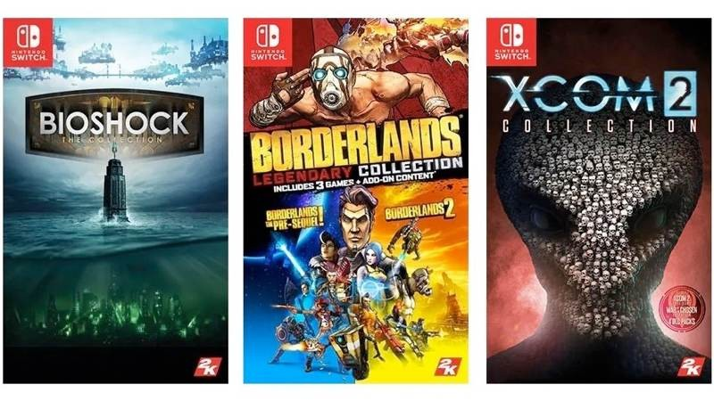 Τα BioShock, Borderlands και XCOM 2 έρχονται στο Nintendo Switch