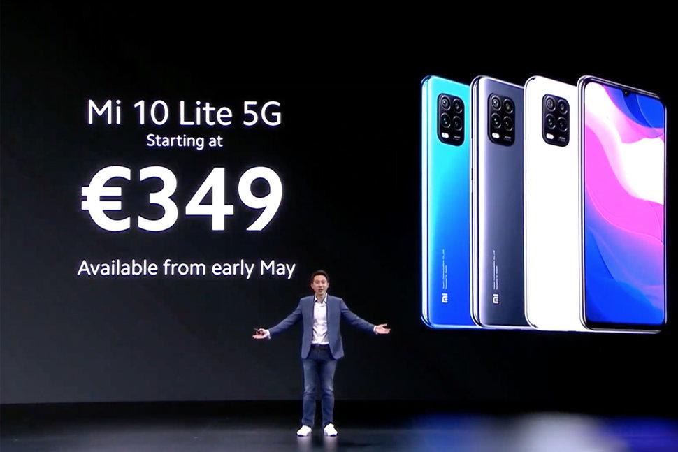 Xiaomi Mi 10 Lite 5G price