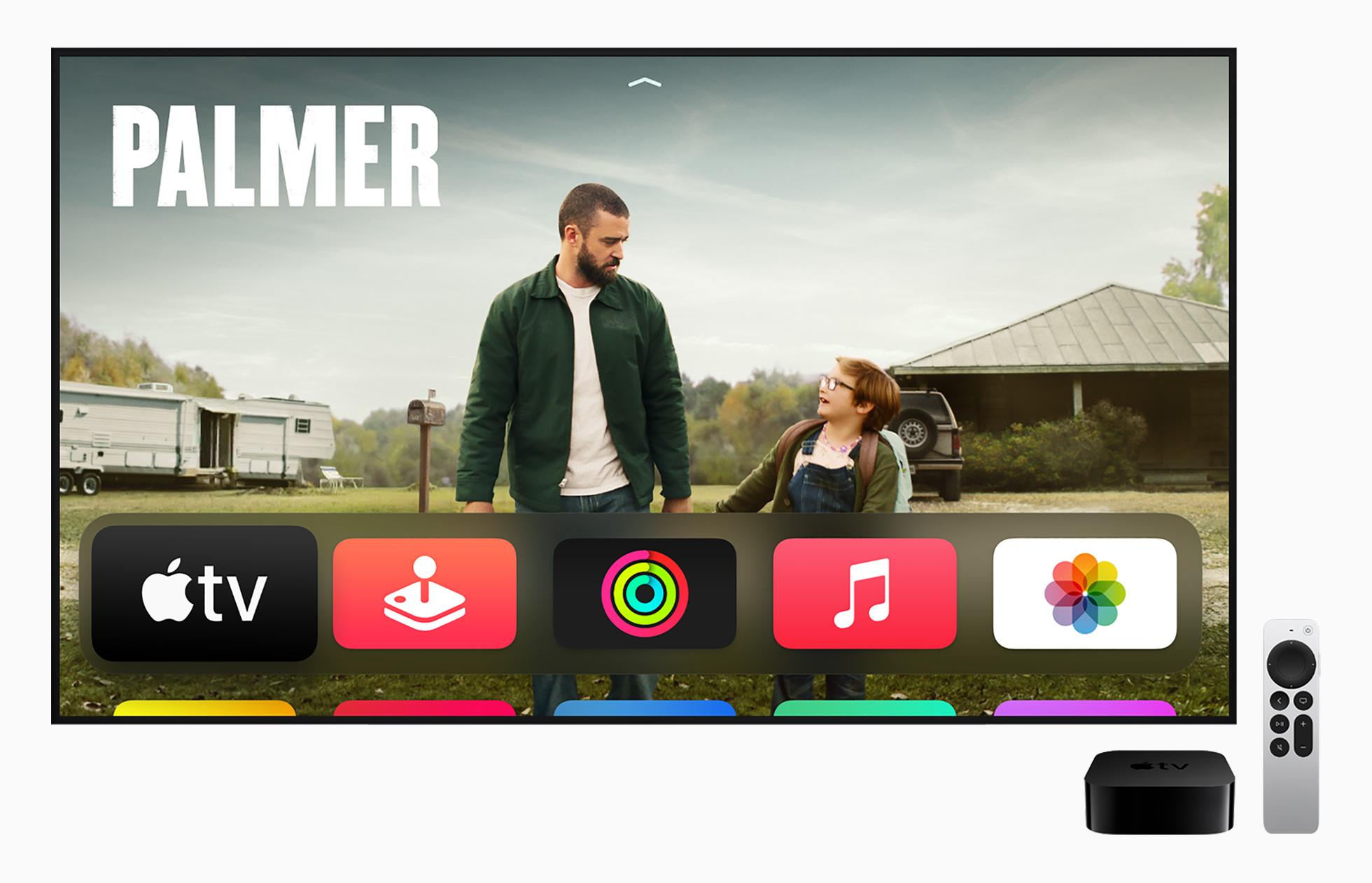 Apple TV 4K Siri Remote Apple TV Plus Palmer