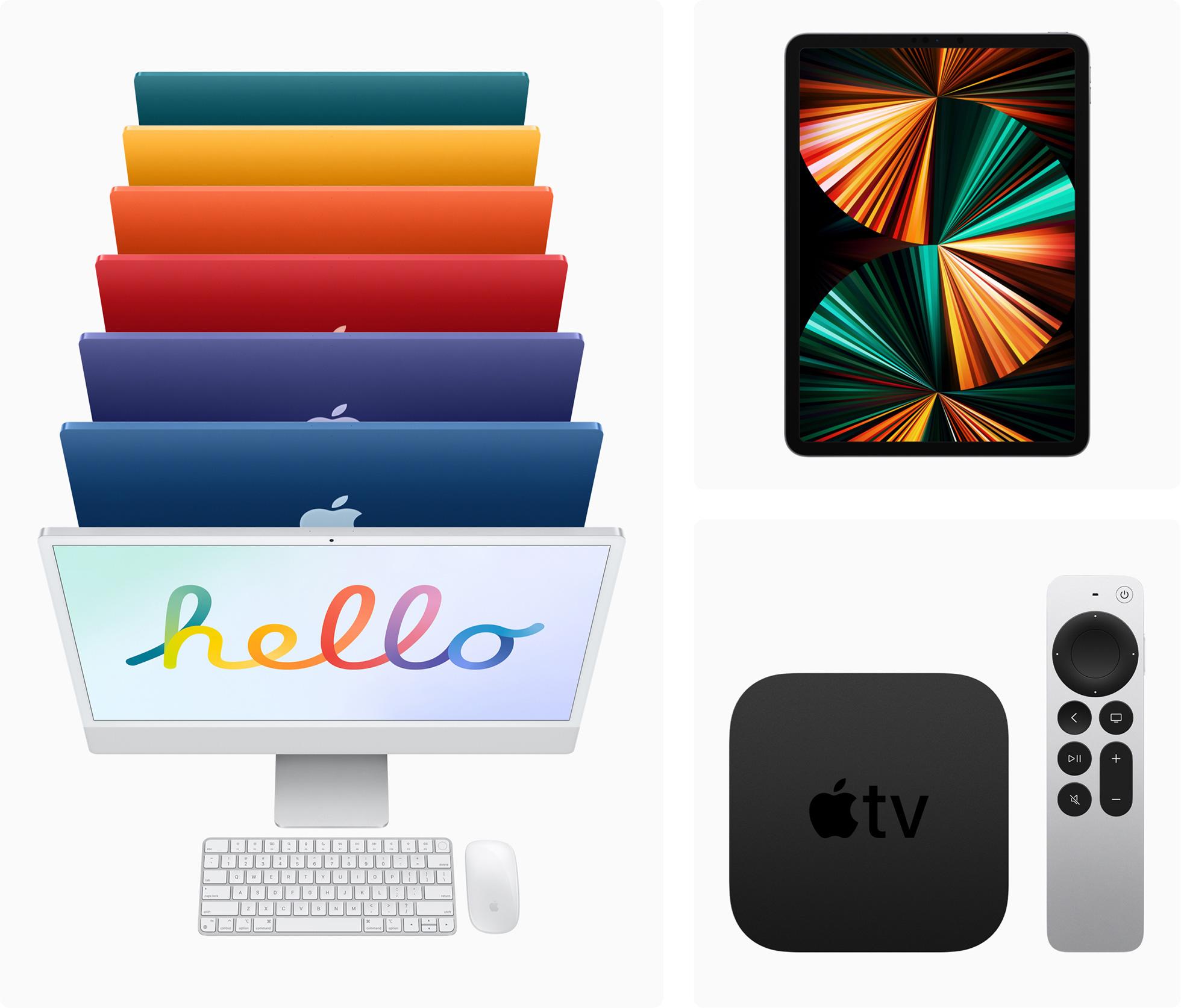 Νέα Apple IMac, IPad Pro, Apple TV 4K για το 2021