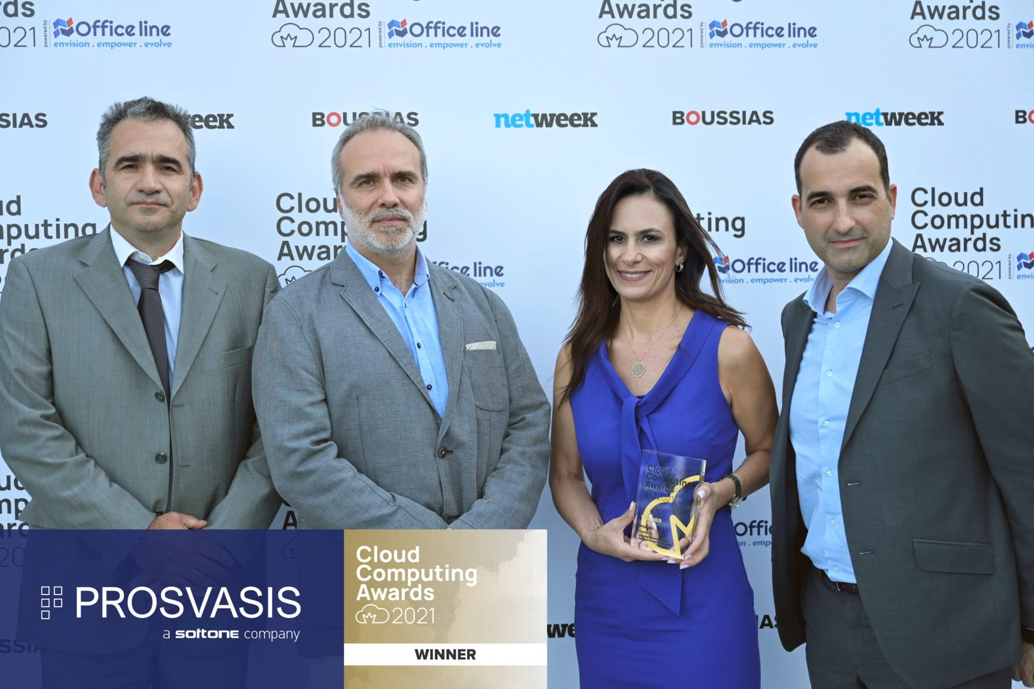 CloudAwards21 Winner Prosvasis