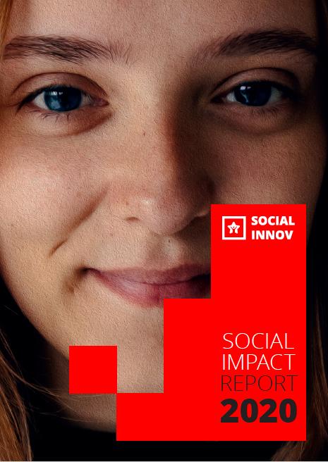 Social Impact Report 2020 Cover