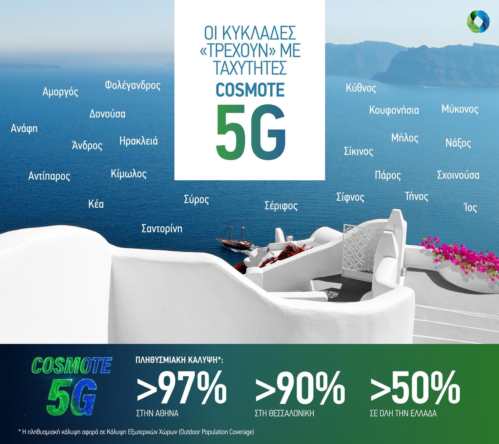 COSMOTE 5G NewRegions Summer2021