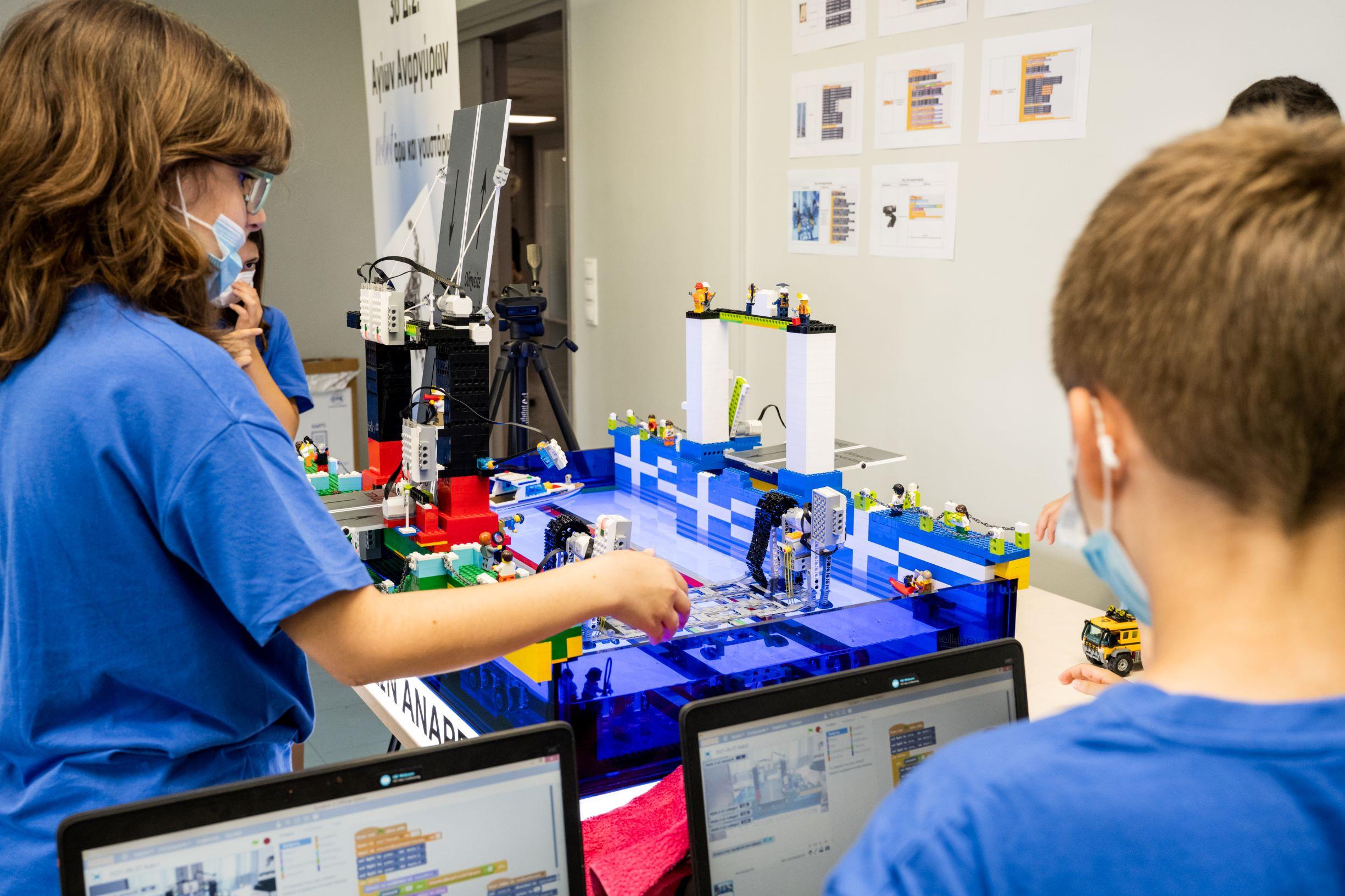 COSMOTE Educational Robotics 2021