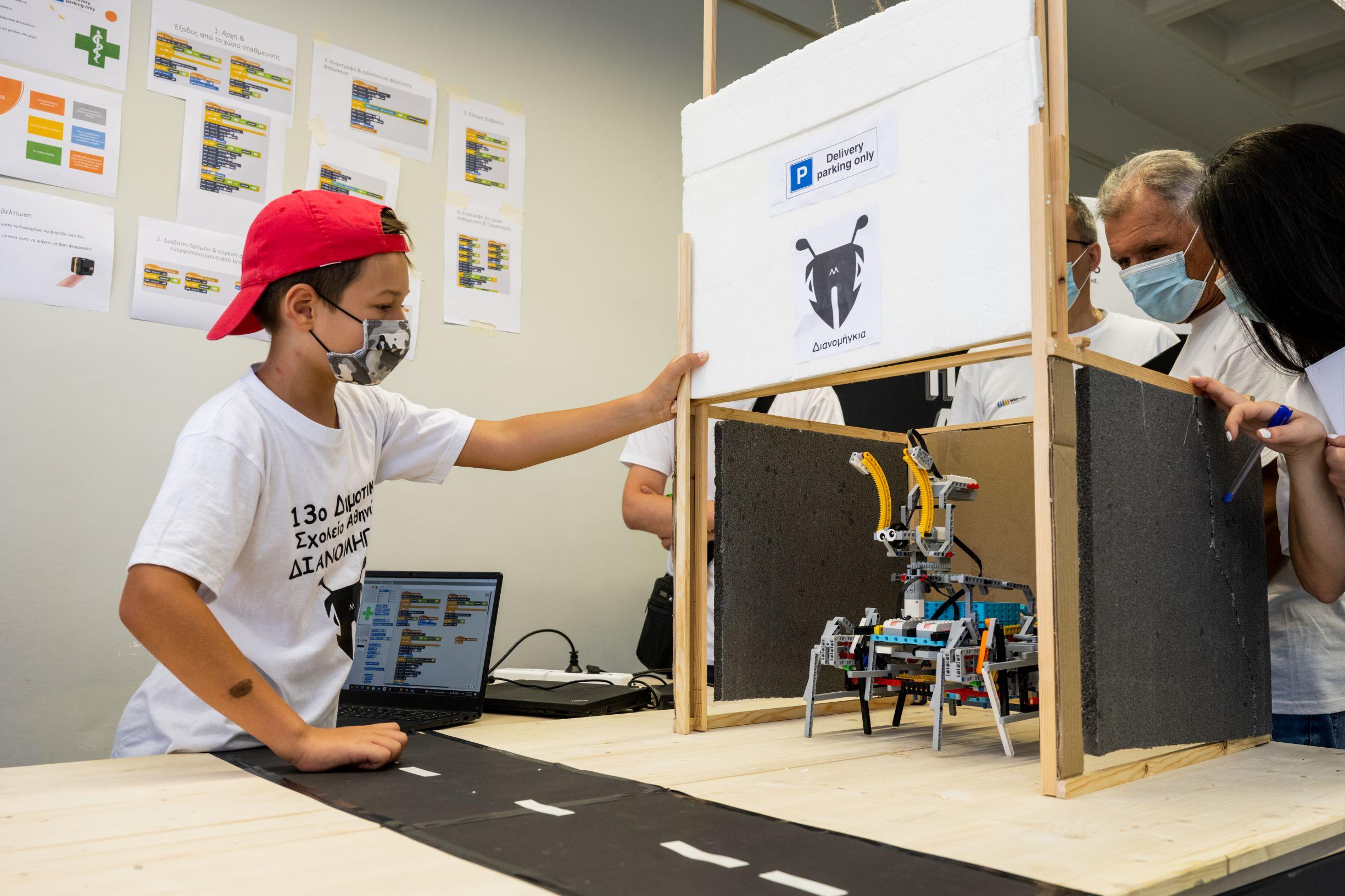 COSMOTE Educational Robotics 2021 2