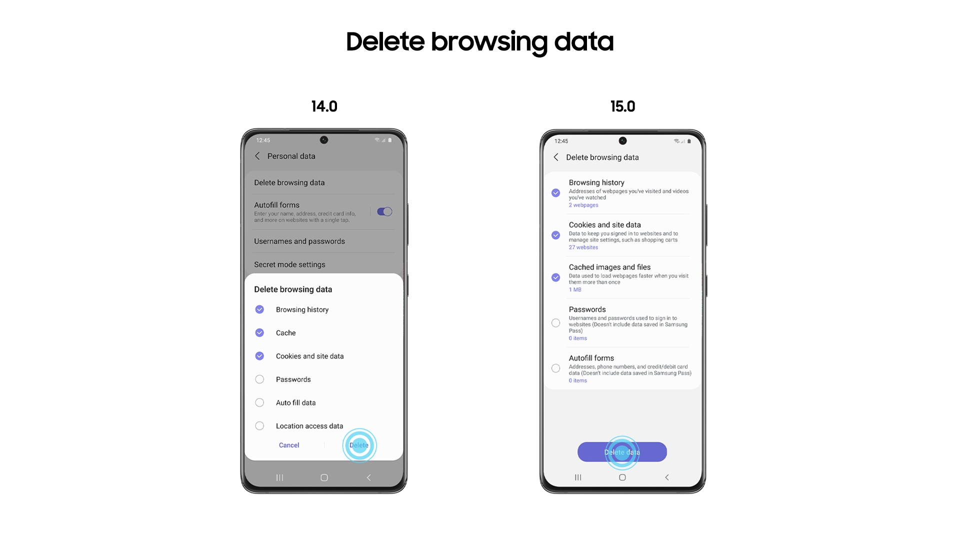 Samsung Internet 15 0