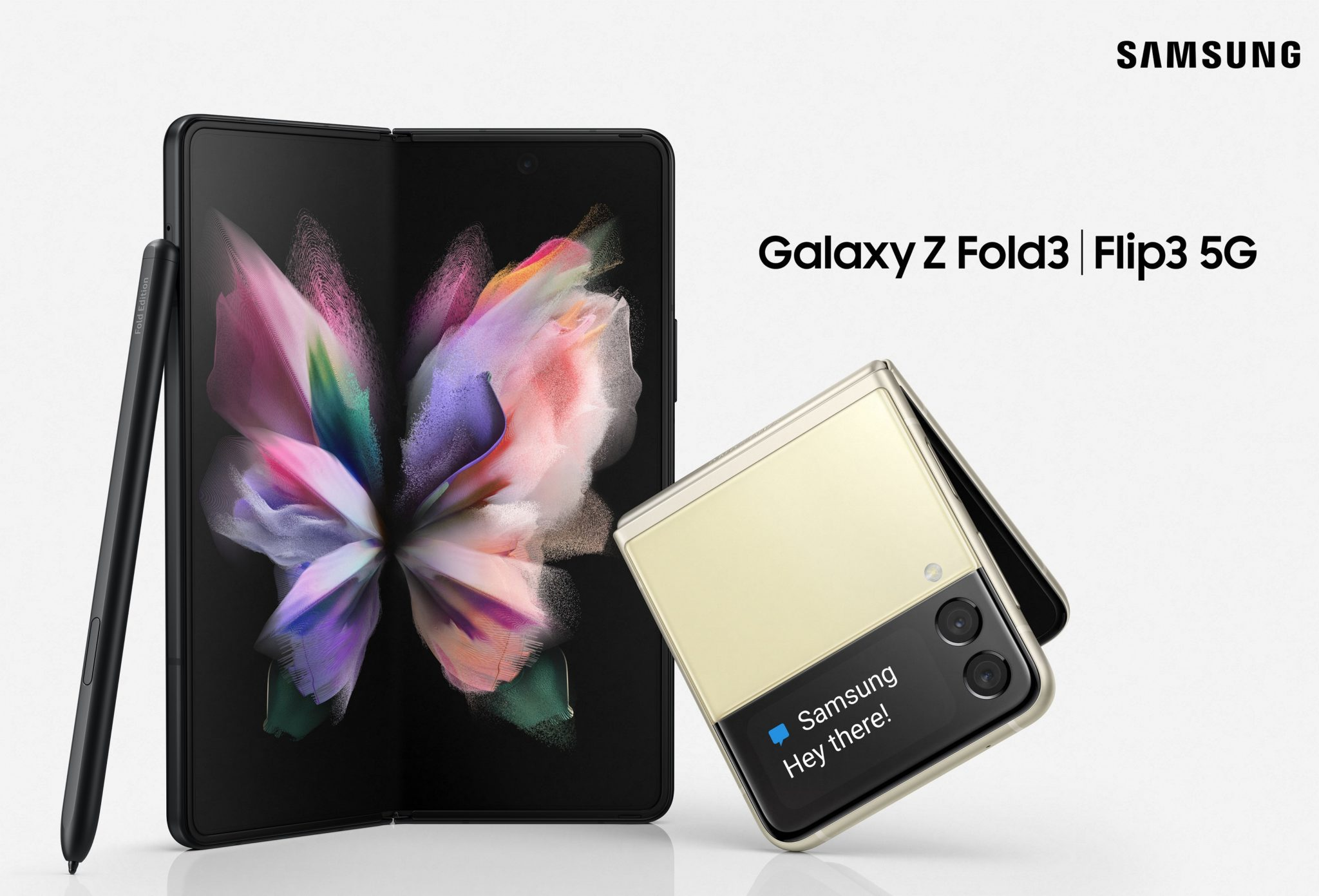 Samsung Galaxy Z Fold3, Z Flip3 5G