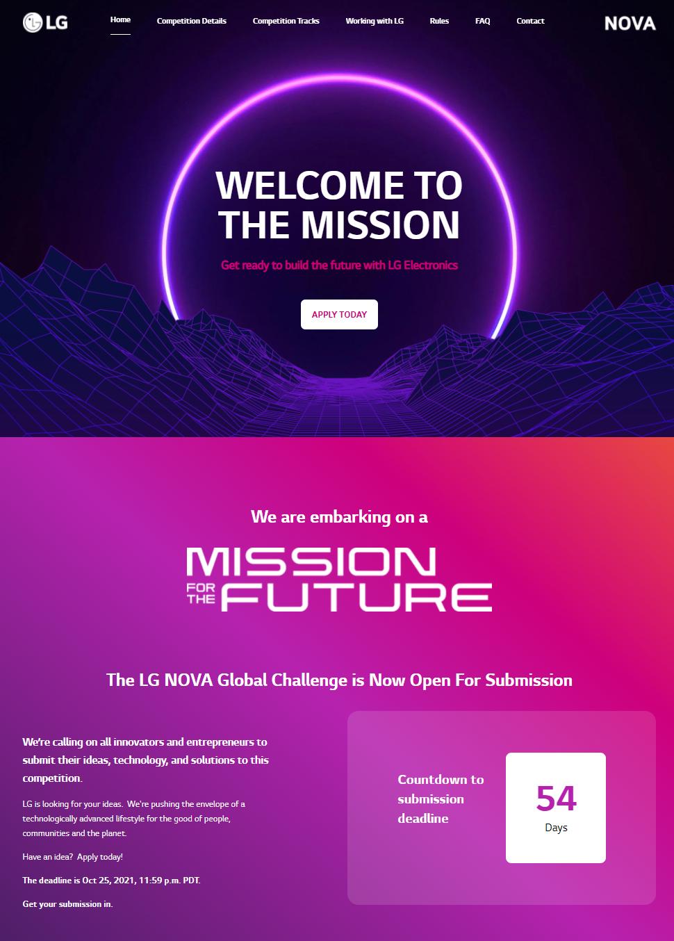Lg Nova Mission For The Future 01