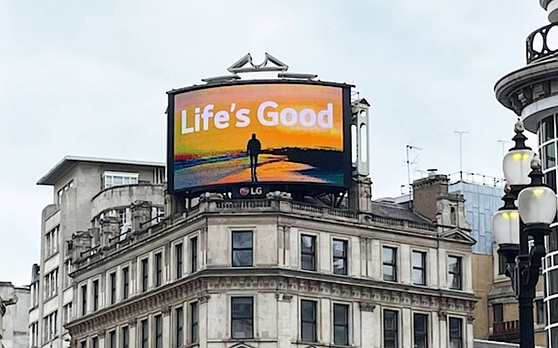 Lifes Good Film London Piccadilly Circus